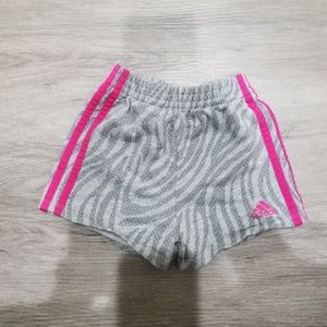 Adidas girls shorts 4T